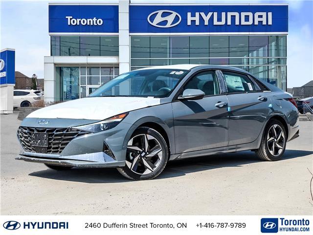 2021 Hyundai Elantra Ultimate (Stk: N22958) in Toronto - Image 1 of 30