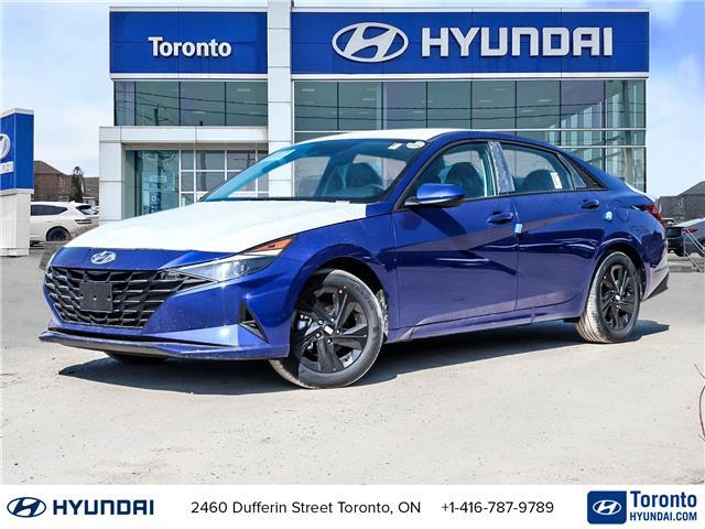 2021 Hyundai Elantra Preferred w/Sun & Tech Pkg (Stk: N22963) in Toronto - Image 1 of 29