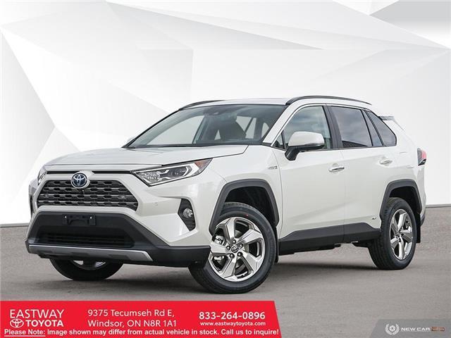 2021 Toyota RAV4 Hybrid Limited (Stk: RH4154) in Windsor - Image 1 of 23