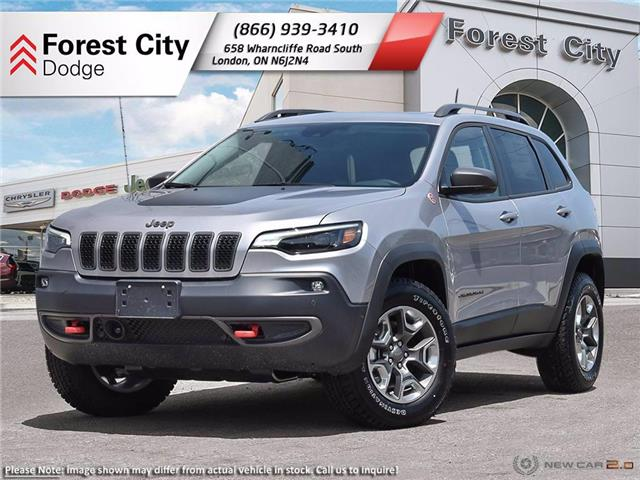 2021 Jeep Cherokee Trailhawk (Stk: 21-8016) in London - Image 1 of 23