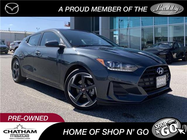 2020 Hyundai Veloster Preferred (Stk: UM2588) in Chatham - Image 1 of 23