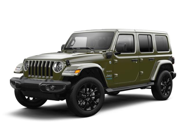 2021 Jeep Wrangler Unlimited 4xe Sahara (Stk: ) in Miramichi - Image 1 of 1