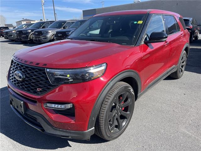 2021 Ford Explorer ST (Stk: 21116) in Cornwall - Image 1 of 14