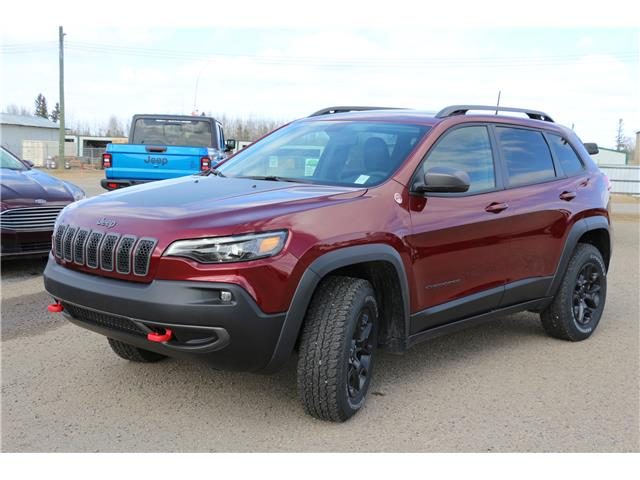 2021 Jeep Cherokee Trailhawk (Stk: MT041) in Rocky Mountain House - Image 1 of 27