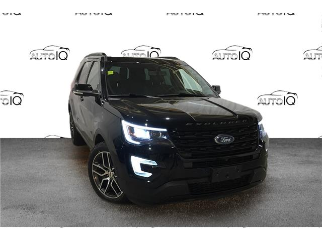 2017 Ford Explorer Sport (Stk: XD051A) in Sault Ste. Marie - Image 1 of 26
