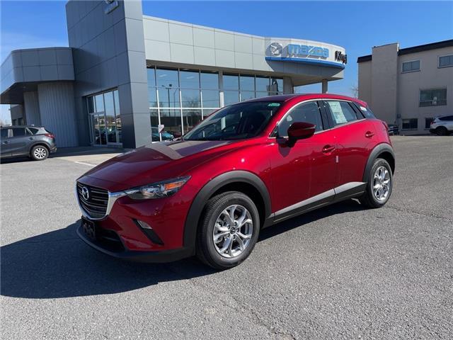 2021 Mazda CX-3 GS (Stk: 21T108) in Kingston - Image 1 of 15