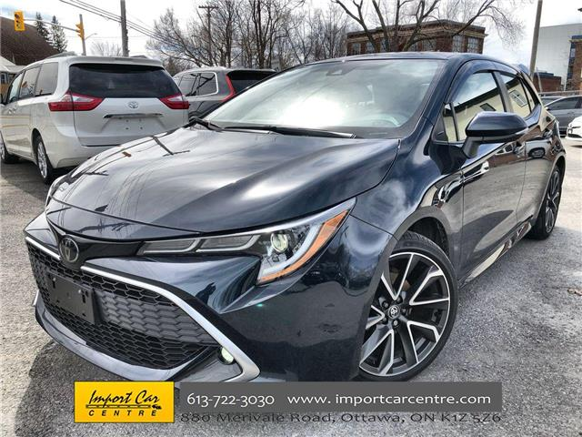 2020 Toyota Corolla Hatchback Base (Stk: 084271) in Ottawa - Image 1 of 25