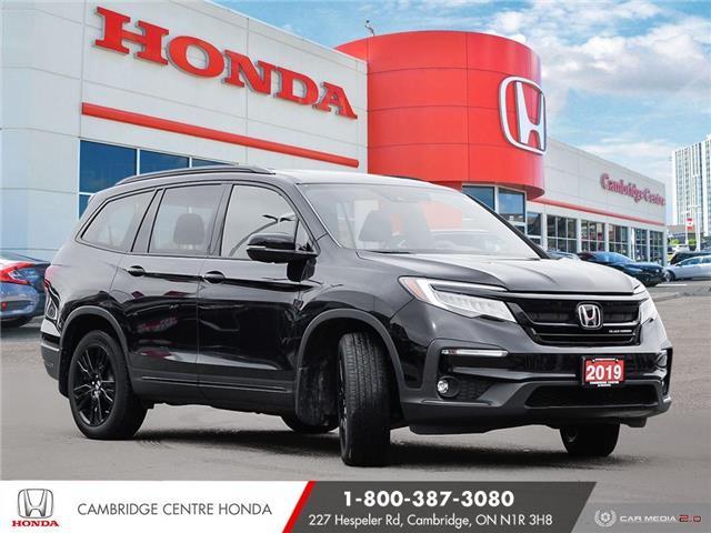2019 Honda Pilot Black Edition (Stk: 21503A) in Cambridge - Image 1 of 27