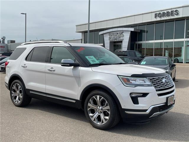2018 Ford Explorer Platinum (Stk: a92729) in Waterloo - Image 1 of 29