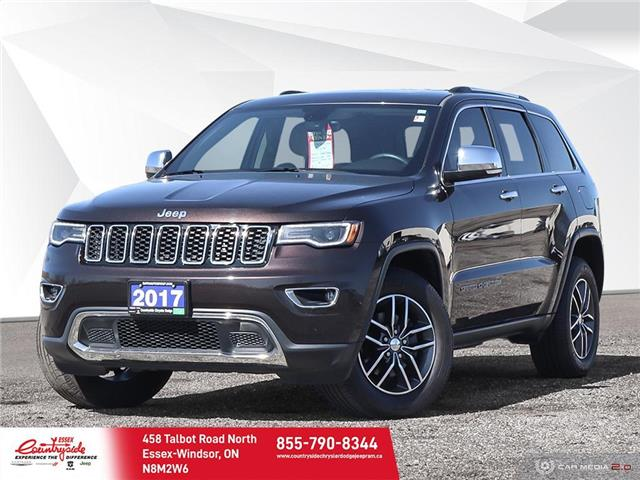 2017 Jeep Grand Cherokee Limited (Stk: 607121) in Essex-Windsor - Image 1 of 29