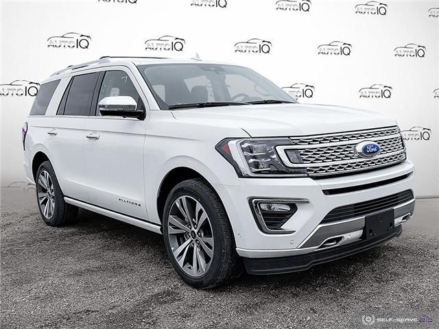 2020 Ford Expedition Platinum White