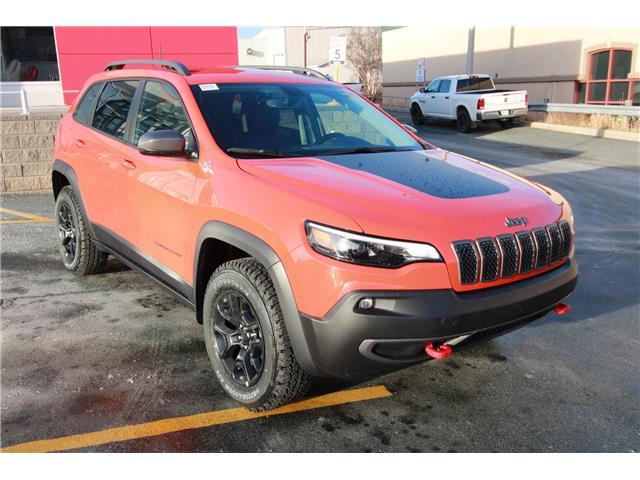 2021 Jeep Cherokee Trailhawk (Stk: PW1575) in St. John\'s - Image 1 of 21