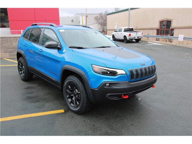 2021 Jeep Cherokee Trailhawk (Stk: PW1640) in St. John\'s - Image 1 of 21