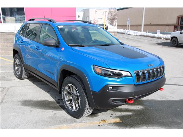 2021 Jeep Cherokee Trailhawk (Stk: PW2280) in St. John\'s - Image 1 of 22