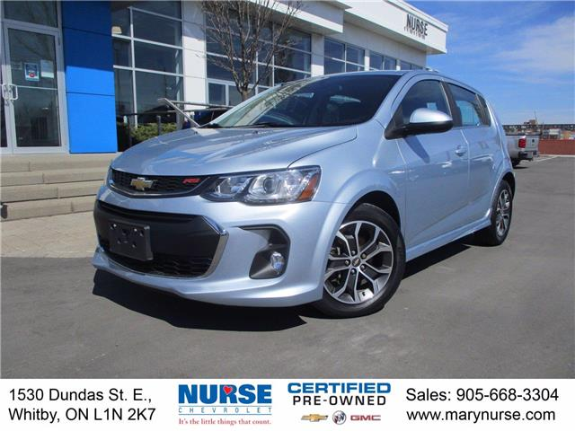 2017 Chevrolet Sonic LT Manual (Stk: 10X499) in Whitby - Image 1 of 23
