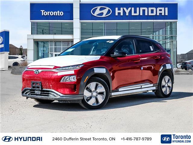 2021 Hyundai Kona EV Preferred w/Two Tone (Stk: N22624) in Toronto - Image 1 of 30
