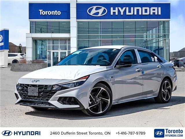 2021 Hyundai Elantra N Line (Stk: N22921) in Toronto - Image 1 of 30