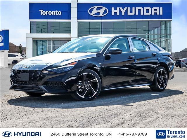 2021 Hyundai Elantra N Line (Stk: N22985) in Toronto - Image 1 of 30