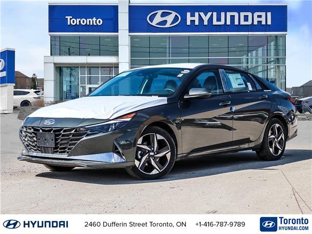 2021 Hyundai Elantra Ultimate (Stk: N22987) in Toronto - Image 1 of 30