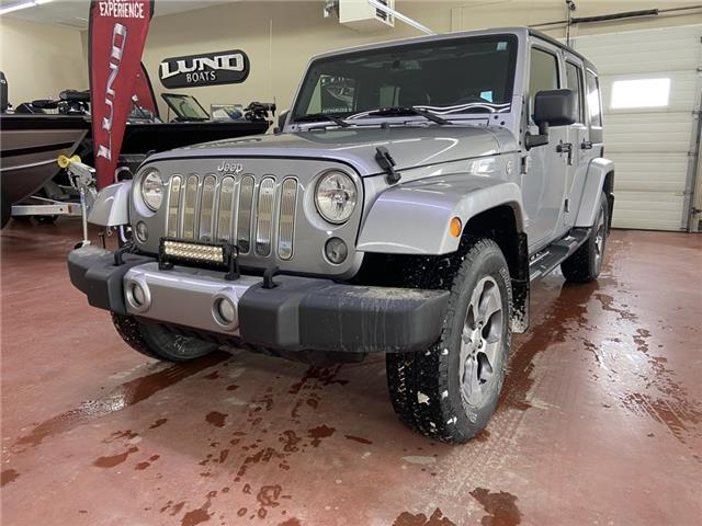 2016 Jeep Wrangler Unlimited Sahara (Stk: T21-70A) in Nipawin - Image 1 of 16