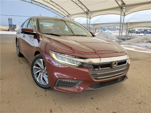 2019 Honda Insight Touring 19XZE4F74KE400593 189905 in AIRDRIE