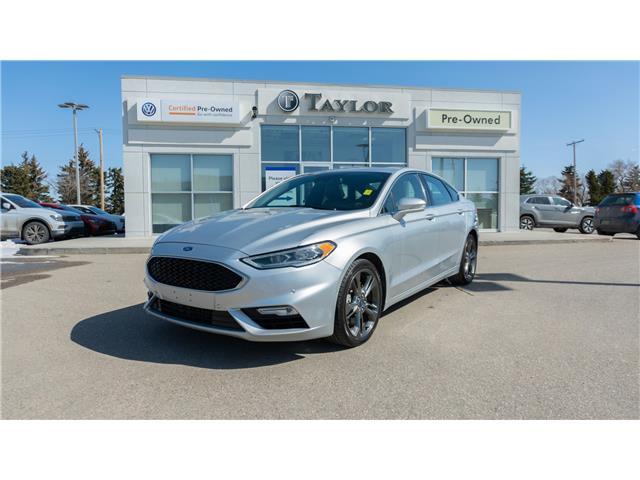 2017 Ford Fusion V6 Sport 3FA6P0VP1HR255687 2101012 in Regina