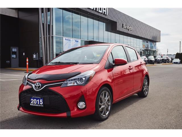 2015 Toyota Yaris SE (Stk: N2355B) in Burlington - Image 1 of 16
