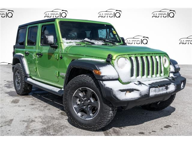 2019 Jeep Wrangler Unlimited Sport (Stk: 27854U) in Barrie - Image 1 of 24