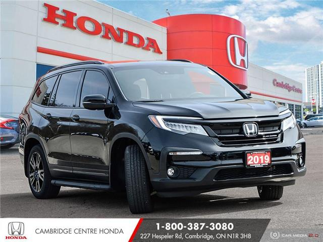 2019 Honda Pilot Black Edition (Stk: 21157A) in Cambridge - Image 1 of 27