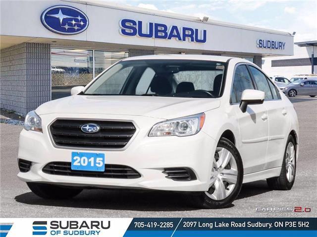 2015 Subaru Legacy 2.5i (Stk: S20122A) in Sudbury - Image 1 of 27