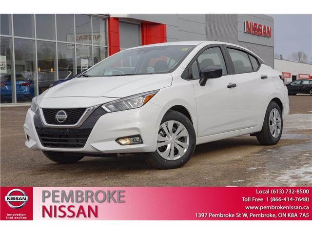 2021 Nissan Versa S (Stk: 21083) in Pembroke - Image 1 of 25