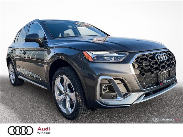 2021 Audi Q5 45 Progressiv (Stk: 21128) in Windsor - Image 1 of 30