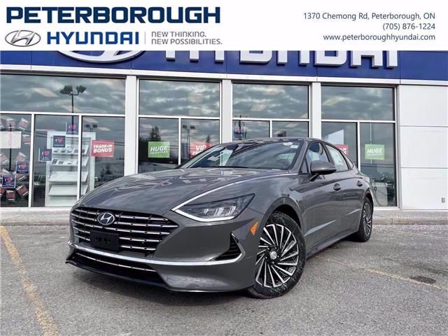 2021 Hyundai Sonata Hybrid Ultimate (Stk: H12823) in Peterborough - Image 1 of 29