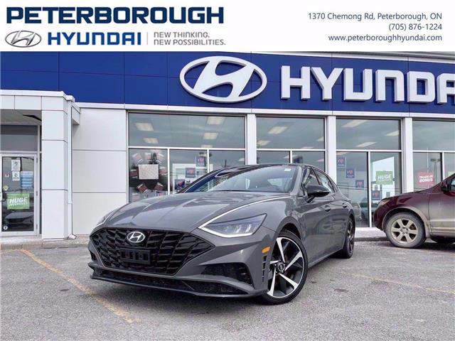 2021 Hyundai Sonata Luxury (Stk: H12822) in Peterborough - Image 1 of 27
