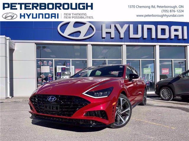 2021 Hyundai Sonata Sport (Stk: H12785) in Peterborough - Image 1 of 30