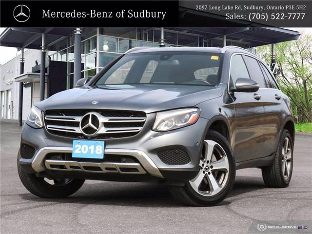 2018 Mercedes-Benz GLC 300 Base (Stk: 20110A) in Sudbury - Image 1 of 32