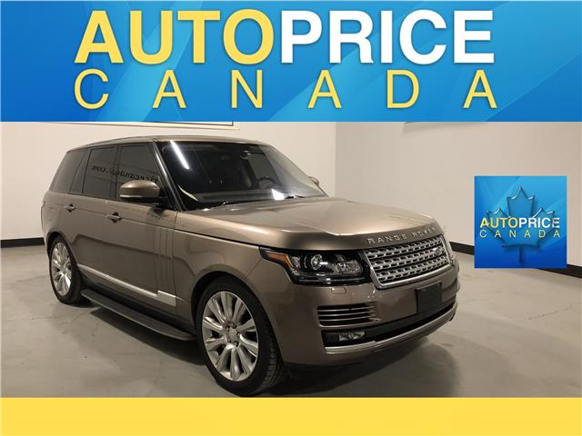 2016 Land Rover Range Rover 5.0L V8 Supercharged (Stk: W2996) in Mississauga - Image 1 of 28