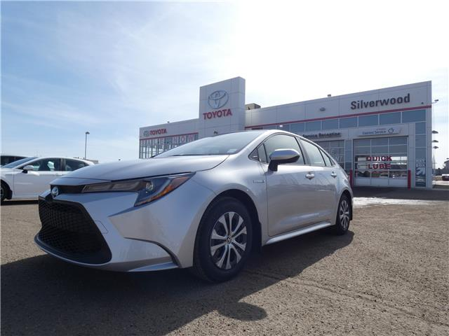 2021 Toyota Corolla Hybrid Base (Stk: CBM112) in Lloydminster - Image 1 of 13
