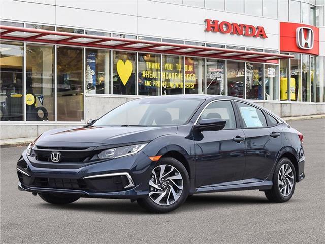 2021 Honda Civic EX (Stk: 3M34410) in Vancouver - Image 1 of 23