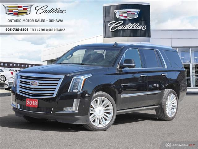 2018 Cadillac Escalade Platinum 1GYS4DKJ5JR134956 109882A in Oshawa