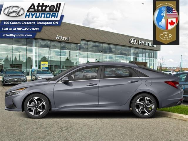 2021 Hyundai Elantra Ultimate  Tech IVT (Stk: 37162) in Brampton - Image 1 of 1
