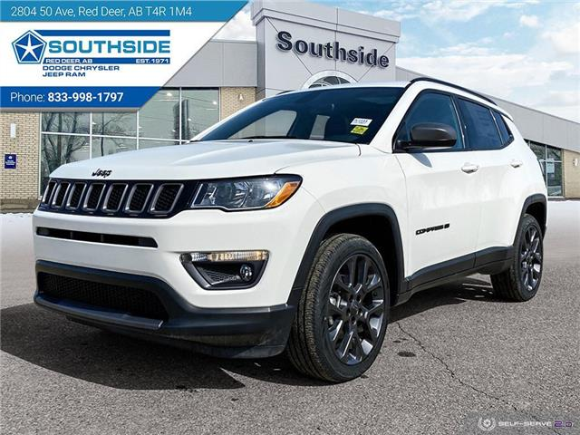 2021 Jeep Compass North (Stk: JC2111) in Red Deer - Image 1 of 25