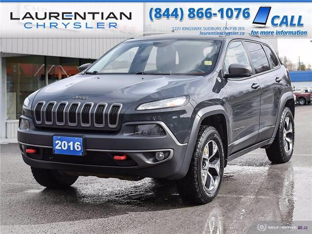 2016 Jeep Cherokee Trailhawk (Stk: 21173A) in Sudbury - Image 1 of 27