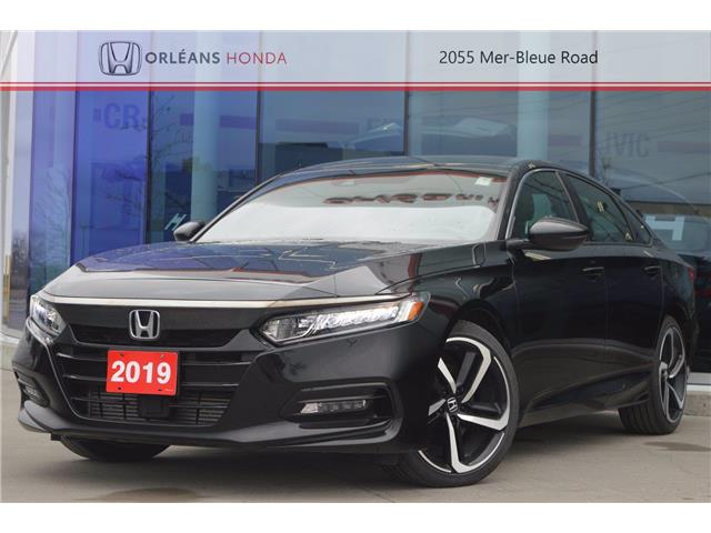 2019 Honda Accord Sport 2.0T (Stk: P1408) in Orléans - Image 1 of 27