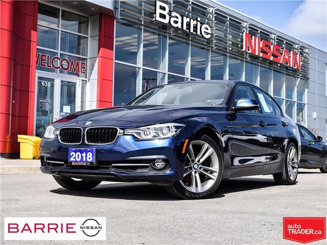 2018 BMW 330i xDrive (Stk: 20527A) in Barrie - Image 1 of 29