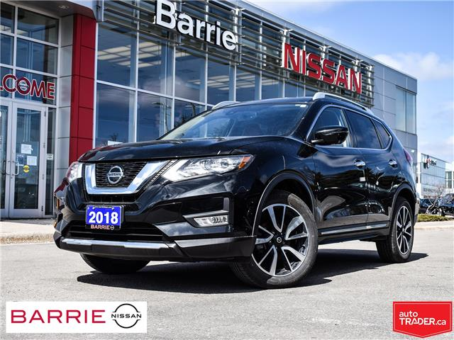 2018 Nissan Rogue SL w/ProPILOT Assist (Stk: P4780) in Barrie - Image 1 of 30