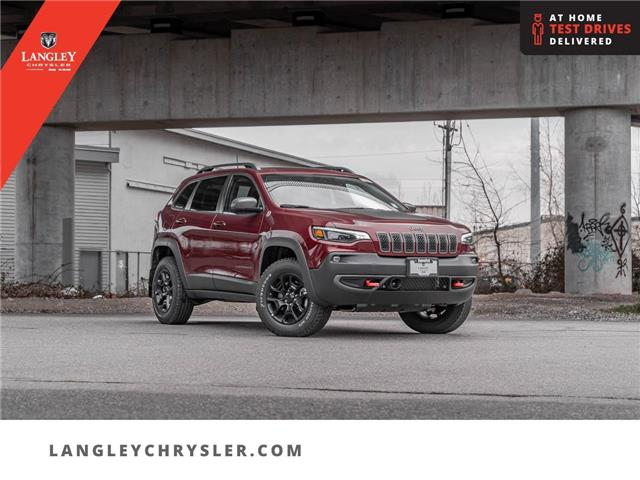 2021 Jeep Cherokee Trailhawk (Stk: M203221) in Surrey - Image 1 of 23