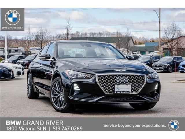 2019 Genesis G70 2.0T Sport (Stk: 9066B) in Kitchener - Image 1 of 26