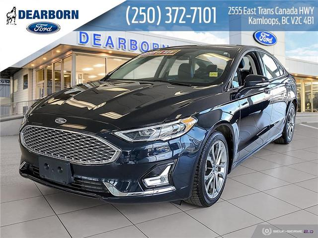 2020 Ford Fusion Hybrid Titanium (Stk: ZL047) in Kamloops - Image 1 of 22