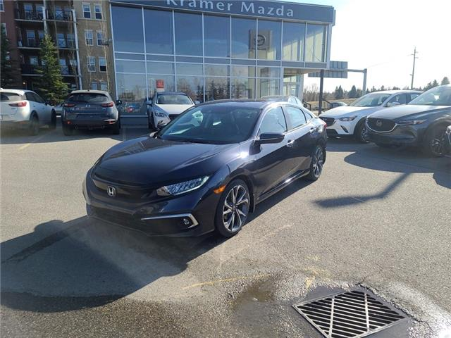 2019 Honda Civic Touring (Stk: N6504A) in Calgary - Image 1 of 24